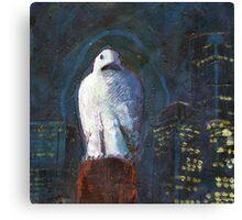 Melbourne Owl Canvas Print