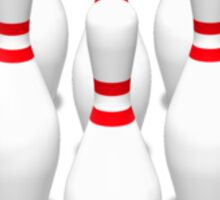 Bowling Pins Sticker