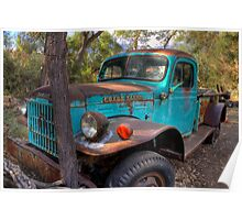 Dodge Power Wagon Poster