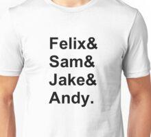 Nowhere Boys Squad Unisex T-Shirt