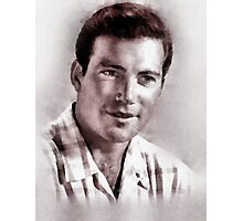 William Shatner by John Springfield Photographic Print