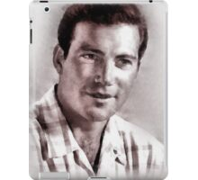 William Shatner by John Springfield iPad Case/Skin