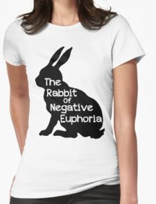 Not a Happy Bunny Womens Fitted T-Shirt
