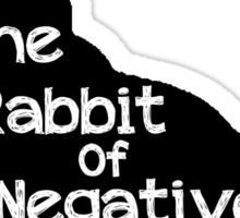 Not a Happy Bunny Variation Sticker