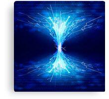 fiber optics Canvas Print