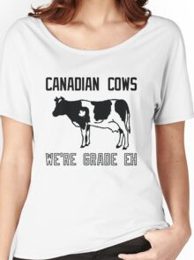 Canadian Cows Women's Relaxed Fit T-Shirt