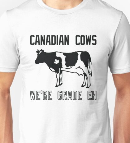 Canadian Cows Unisex T-Shirt