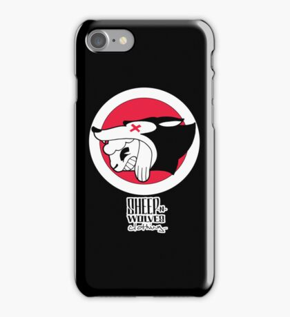Sheep-n-Wolves Clothing Logo iPhone Case/Skin