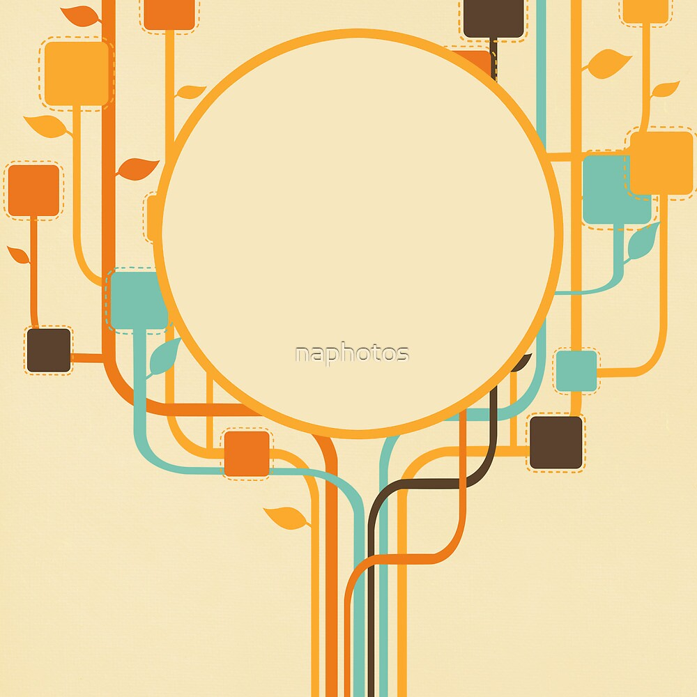 graphic tree by naphotos