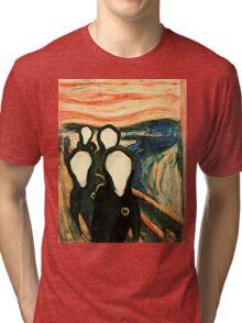 Wu Scream - www.art-customized.com Tri-blend T-Shirt