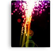 lighting explosion Canvas Print