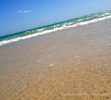 Seashore water by erison103