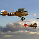 WW1 - Fighting Colours lll by Pat Speirs