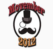 Mustache November by twistedpainter