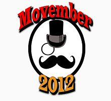 Mustache November Unisex T-Shirt