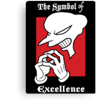 The Symbol of Excellence Canvas Print