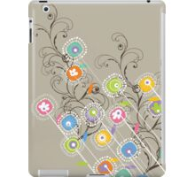 My Groovy Flower Garden iPad Case/Skin