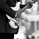 Blues Guitarist by Dean Gale