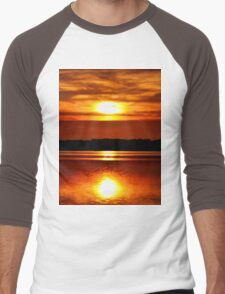 Sun Reflection Men's Baseball ¾ T-Shirt