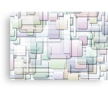 gradient overlap Canvas Print