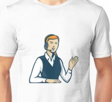 Telemarketer Call Center Operator Retro Unisex T-Shirt
