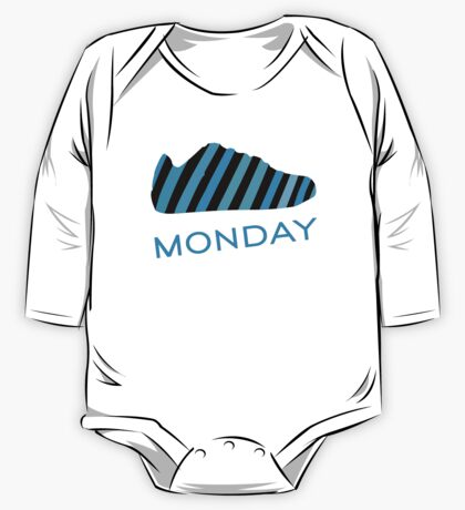 Blue Monday  One Piece - Long Sleeve