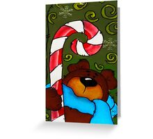 Candy Bear Greeting Card
