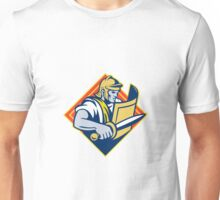 Gladiator With Sword And Shield Unisex T-Shirt