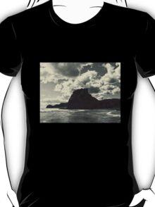 lion rock at piha redux T-Shirt