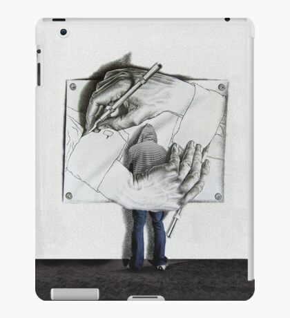 i love escher iPad Case/Skin