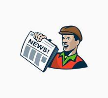 Newsboy Newspaper Delivery Retro  Unisex T-Shirt