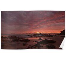 Port Macquarie Sunrise Poster