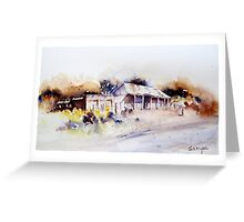 Old Cottage in Outback Australia Greeting Card