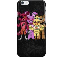 Welcome - Five nights at Freddy's iPhone Case/Skin