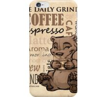 Coffee Bear iPhone Case/Skin