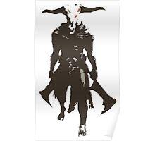 Capra Demon Poster