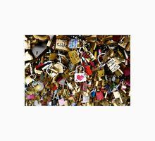 Love Locks in Paris Unisex T-Shirt