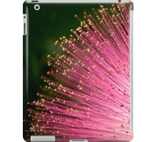 Pink fireworks tipped with gold for iPad iPad Case/Skin