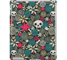 Skulls and flowers. (2) iPad Case/Skin