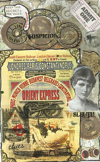 All Aboard!(The Orient Express) by RobynLee