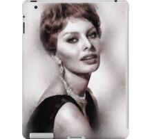 Sophia Loren Hollywood Icon by John Springfield iPad Case/Skin