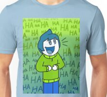 Obie Laughing Unisex T-Shirt