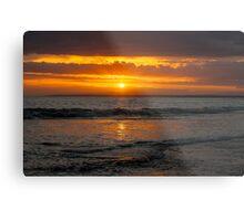 13th Beach Sunset Metal Print