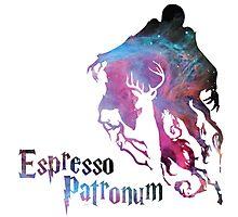 Espresso patronum Galaxy themes Photographic Print