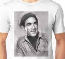 Anthony Quinn Hollywood icon by John Springfield Unisex T-Shirt