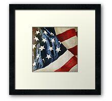 America flag Framed Print