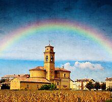 Rainbow of Faith by Dragos Dumitrascu
