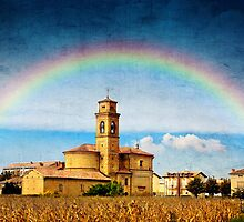 Rainbow of Faith by Dragos Dumitrascu