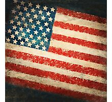 America flag Photographic Print