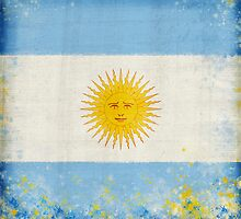 Argentina flag by naphotos